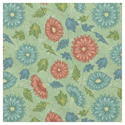 Gorgeous Vintage Floral And Foliage Fabric Free Vector Art Pattern Illustration Vector Free