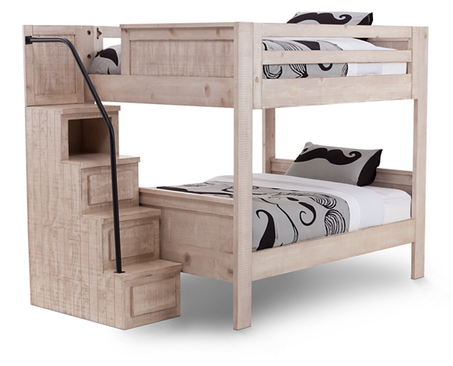 Bunk Beds Bristol Valley Bed With Stairs Stack Up On Style