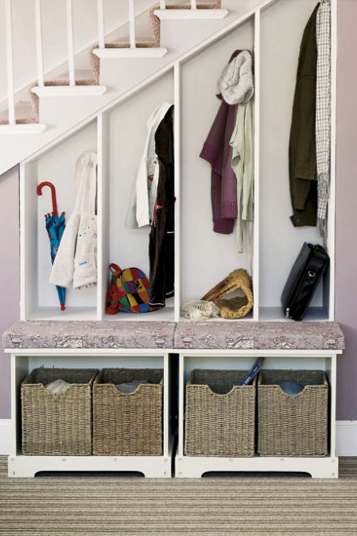 38 Creative Storage Solutions For Small Spaces Awesome Diy Ideas Creative Storage Creative Storage Solutions Room Under Stairs