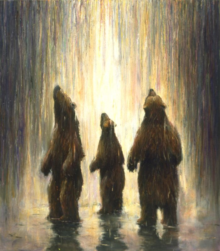 Robert Bissell Bathers 2000 Animal Verse In 2019 Bear Art