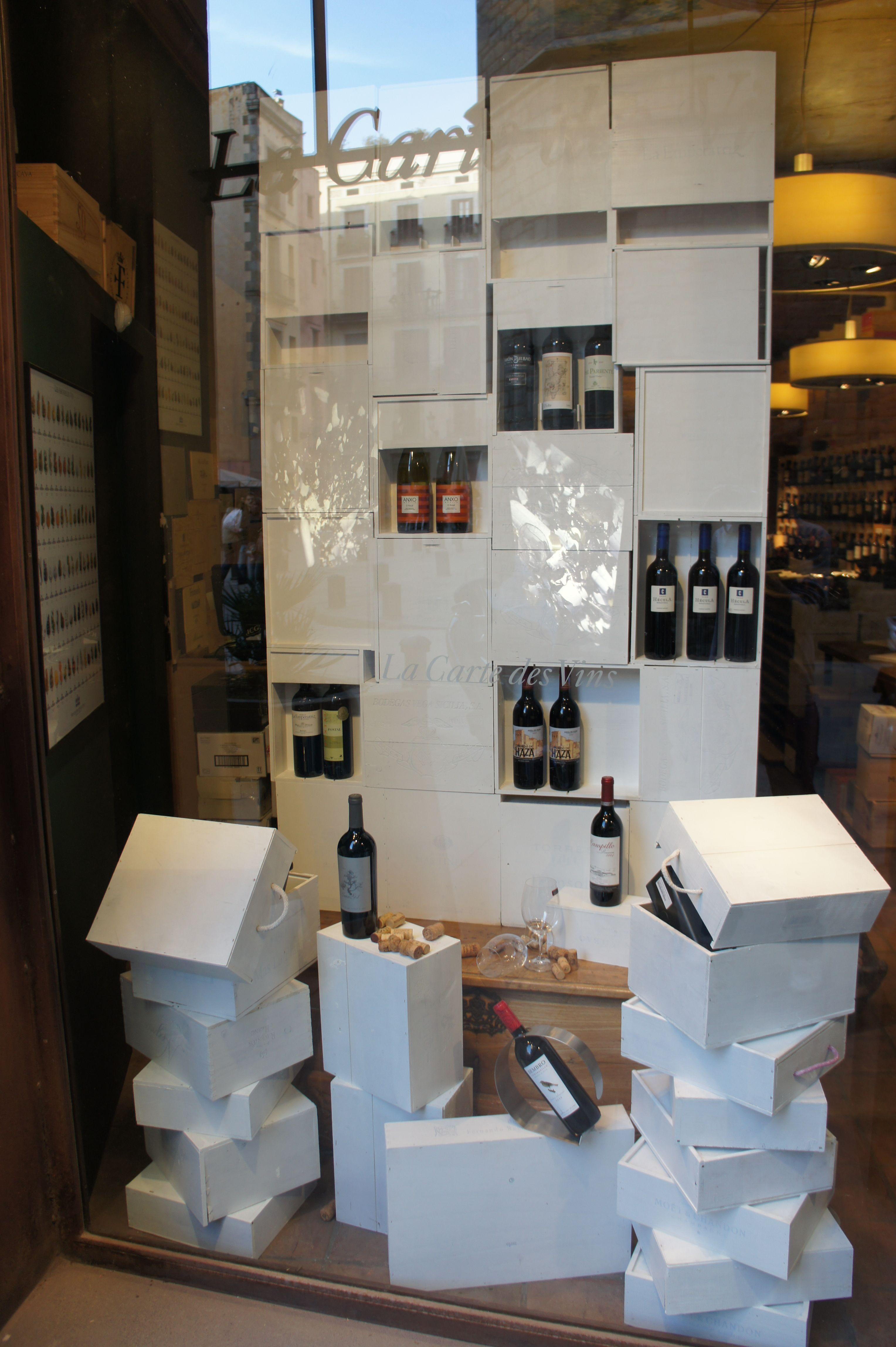 Resultado De Imagen De Ejemplos De Escaparates De Vino  # Muebles Cinthia Medellin