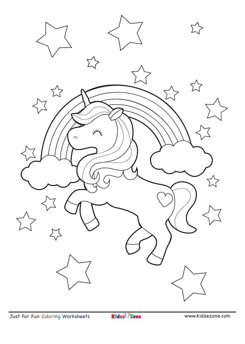 Unicorn And Rainbow Coloring Sheet In 2020 Unicorn Coloring Pages Coloring Pages Coloring Sheets [ 1125 x 803 Pixel ]