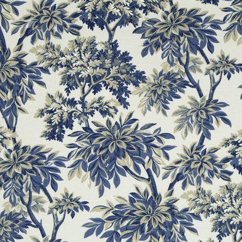 Robert Allen@Home Sylvan Toile Calypso Fabric
