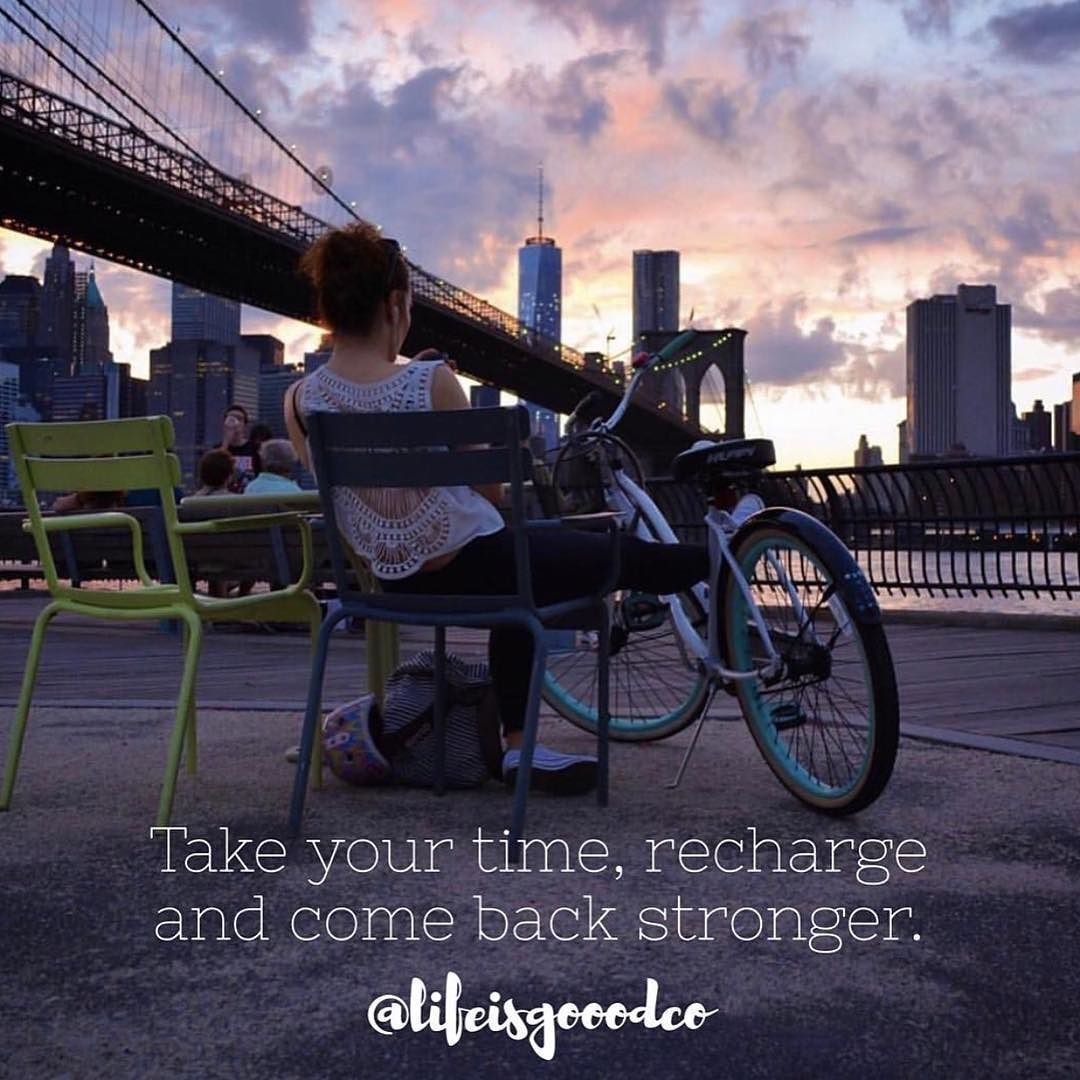Having Some Downtime To Recharge Is Key Follow Lifeisgooodco For More Amazing Content Instagram Weekend Fun Dream Big