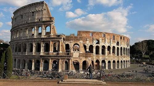 Colosseum, Rome, Italy, April 2015