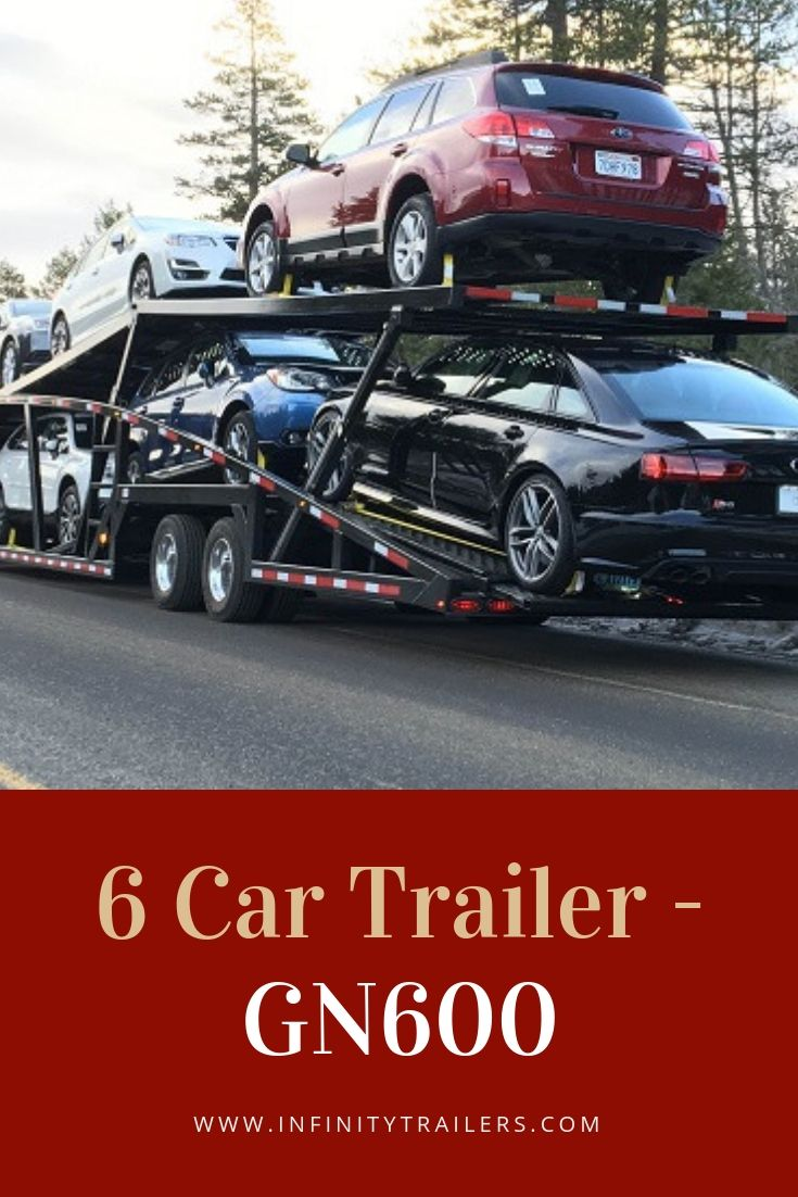 This 50' ft 6 Car hauler trailer allows you to get more