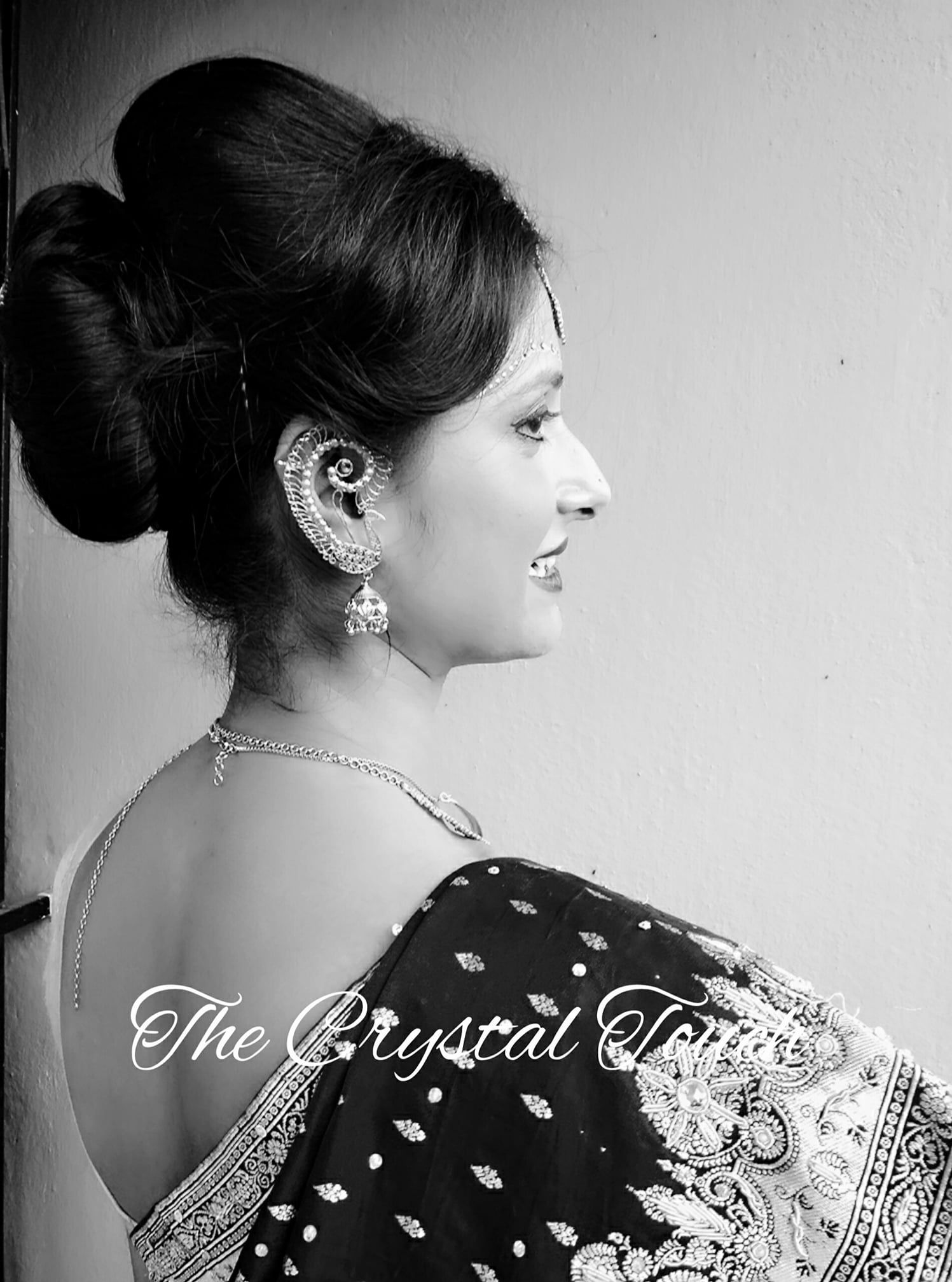 Traditional Bengali Bridal Makeup and Hair Do | Events | Pinterest ...