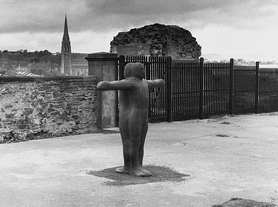Sculpture for Derry Walls 1987 - Anthony Gormley