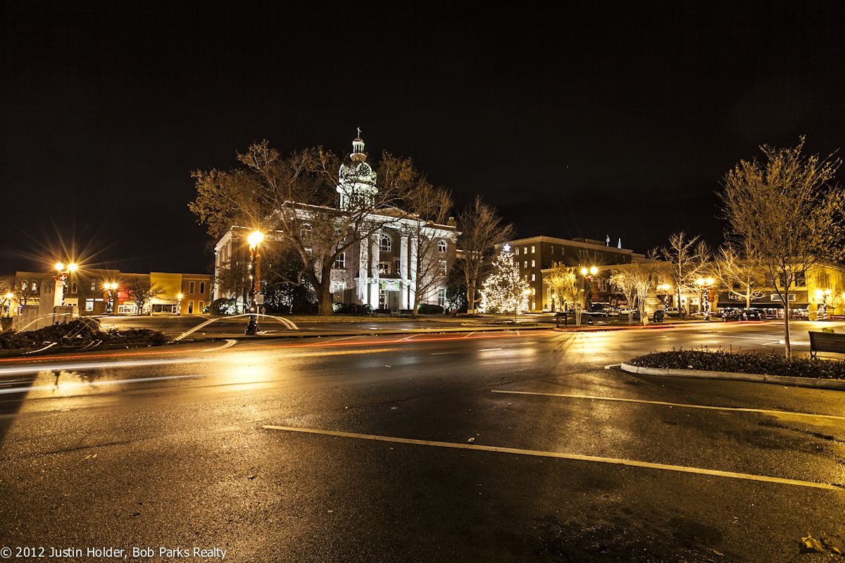 Murfreesboro Square at Night