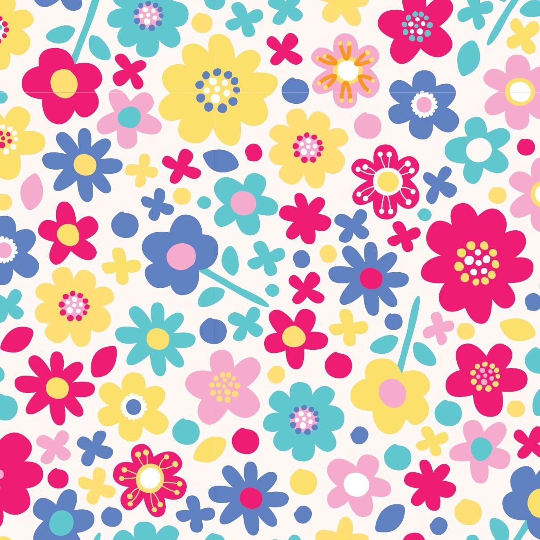 Girls Floral Print Bib - Jo Jo Maman Bebe