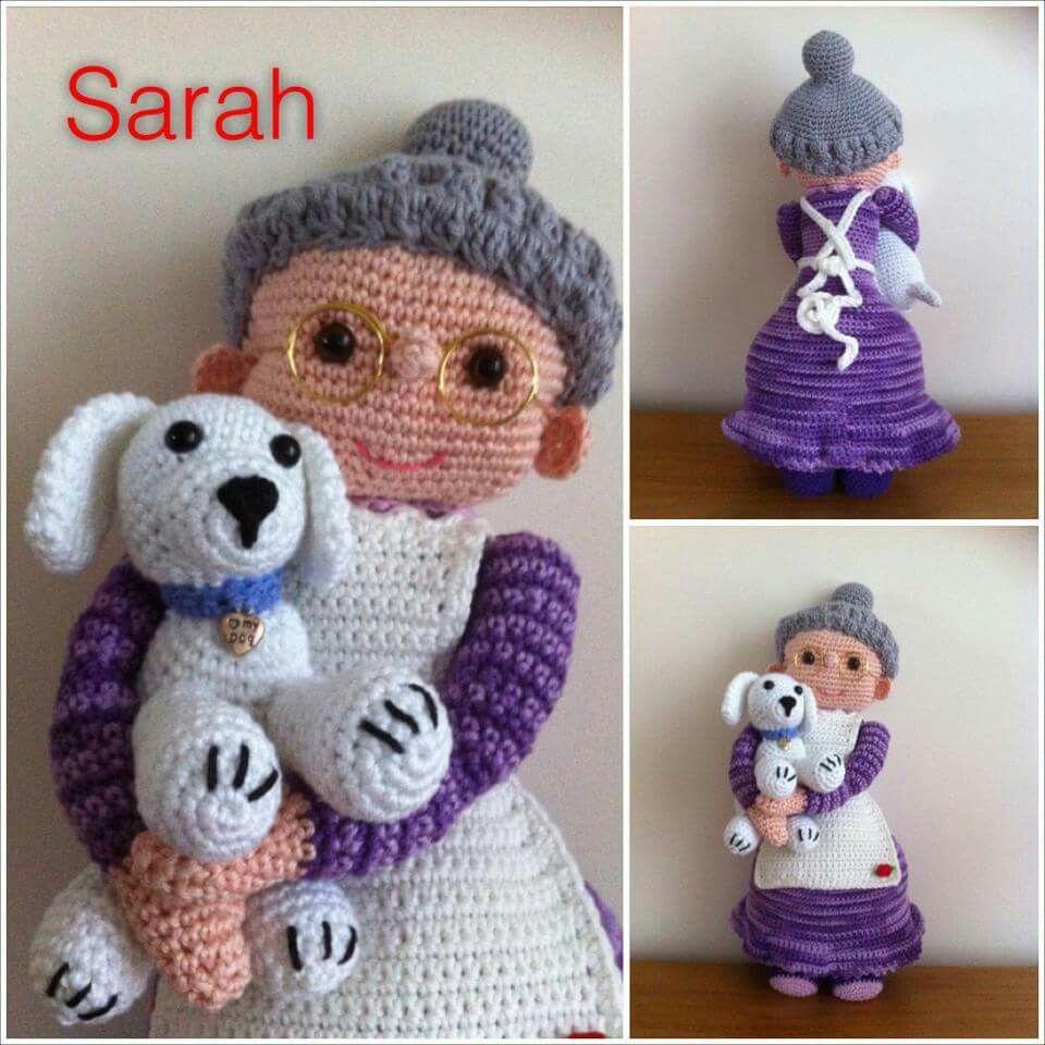 Sarah Gemaakt Van Patroon Santalientje Crochet Dolls Pinterest