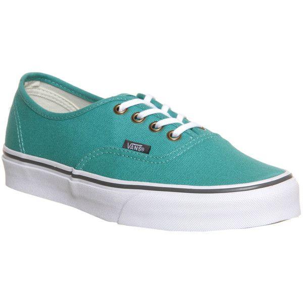 Authentic Vans- Sea Blue/True White trainers