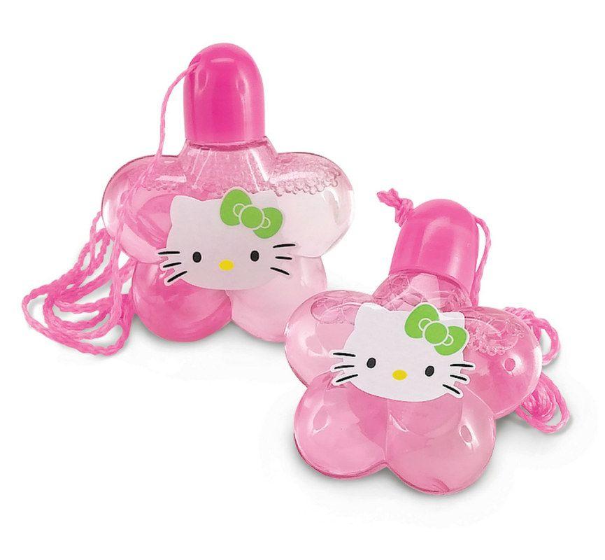Hello Kitty Bubble Necklaces (4 Count) Description: Add