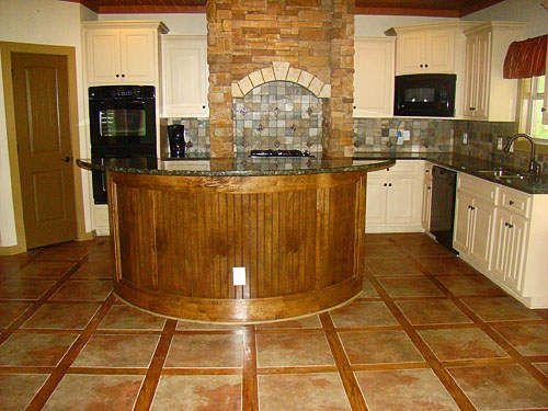 Ceramic Tile Flooring For Kitchen Design Ideas Felmiatika Com