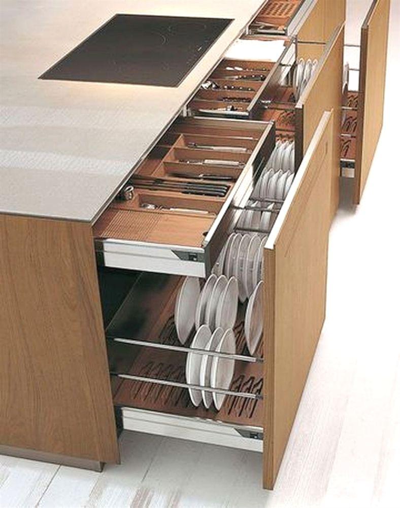Unimaginable Diy Ideas For Kitchen Storage 16 Kitchenideas Plate Dish Cutlery