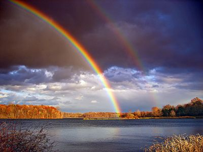 Witness And Double Rainbow In Real Life Bucket List