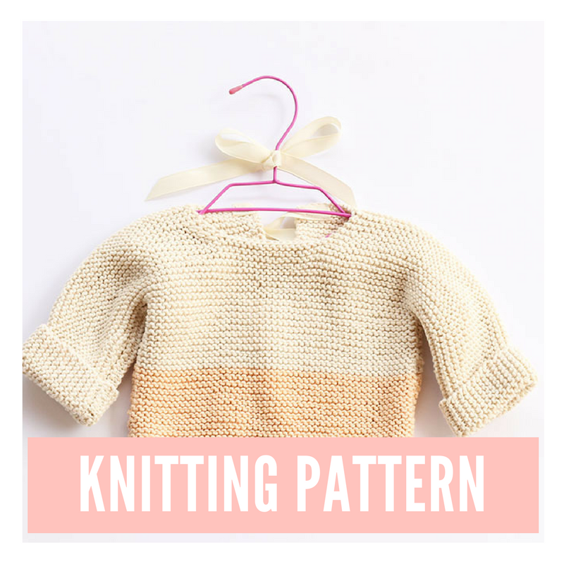 8 Baby Knitting Patterns For Spring | Baby sweater ...