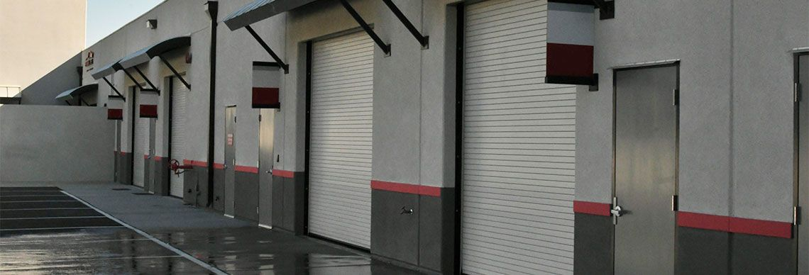 Industrial Roll Up Doors Are Often Heavier Than The Ones Used For Residential Properties And Can Weigh A To Commercial Overhead Door Overhead Door Garage Doors