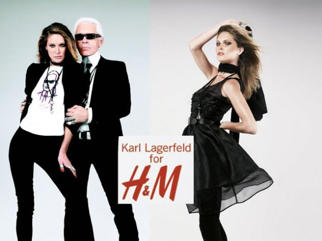 Image result for h&m collab karl lagerfeld