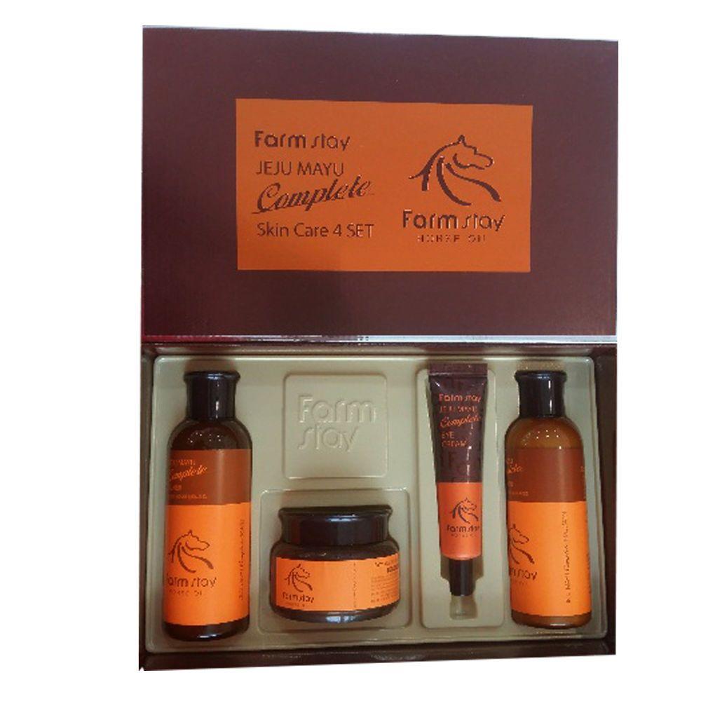 Farm Stay Jeju Mayu Complete Skin Care 4 Set Ebay Complete Skin Care Skin Care Jeju
