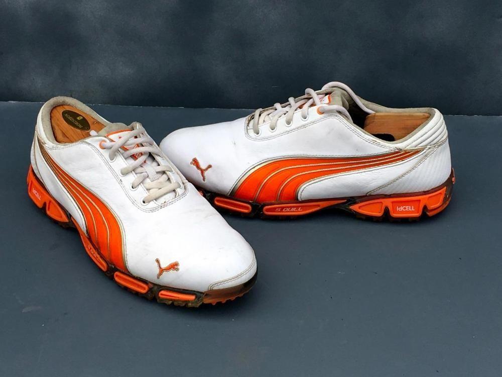 puma orange golf