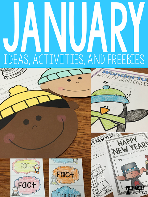 Lots of great ideas (and freebies) for the month of January. I especially love the class book freebie!