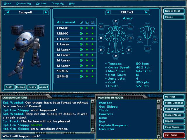 mechwarrior character sheet