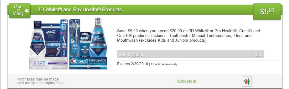 $1.00 MONEYMAKER WYB SIX CREST MOUTHWASH & TOOTHPASTE AT TARGET! - http://wp.me/p56Eop-JcA