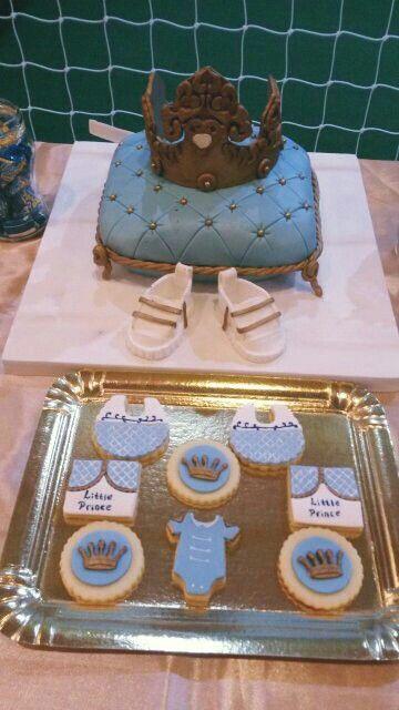 Torta y Galletitas Príncipe