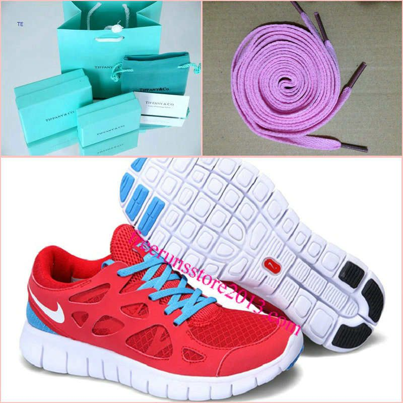 new arrival d58ec 613ab Mens Nike Free Run 2 Sport Red White Blue Glow Shoes  Red  Womens  Sneakers