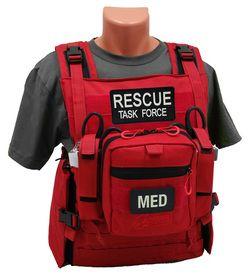 Rescue Task Force Rtf Responder Vest Empty Or Loaded