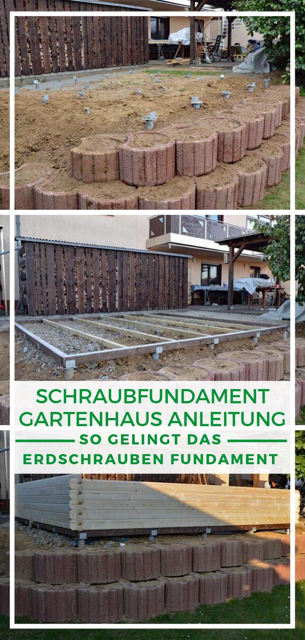 Gartenhaus selber bauen Eine Gartenhütte braucht eine