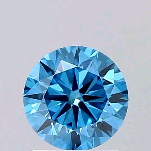 Beautiful blue diamond