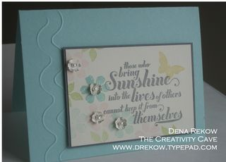 The Creativity Cave: I've been stampin up a storm!