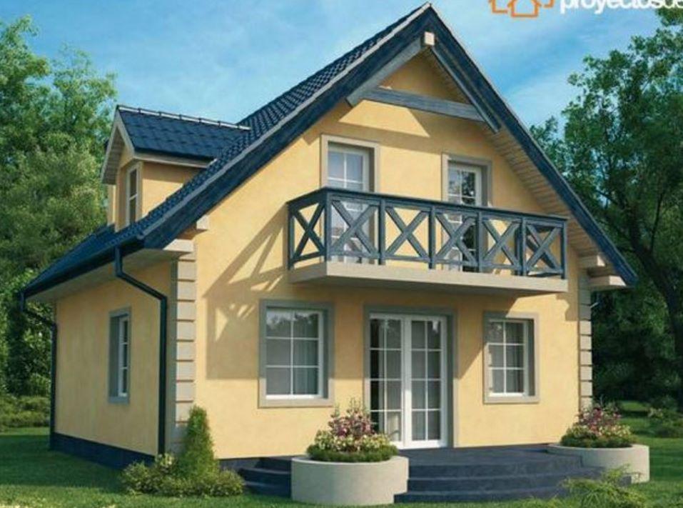Plano de casa alpina de dos pisos casas bonitas pinterest for Planos de casas hermosas
