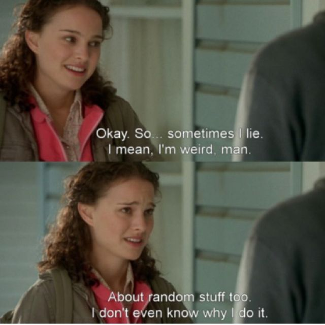 Garden State I Think I Know More About The Liars They Are Just