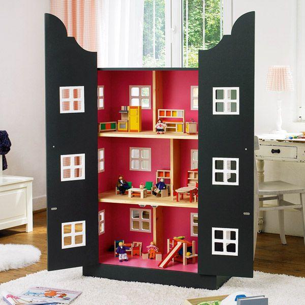 bauanleitung f r ein selbstgemachtes puppenhaus amicella kind. Black Bedroom Furniture Sets. Home Design Ideas