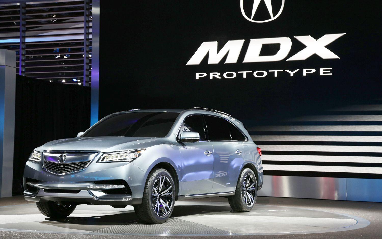2014 Acura Mdx Prototype First Look Motor Trend Acura Rdx Acura Mdx Hybrid Acura Mdx