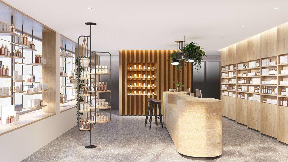 Innenarchitektur stuttgart apotheke gesundheitswesen pflanzen retail nachhaltigkeit - Innenarchitektur stuttgart ...