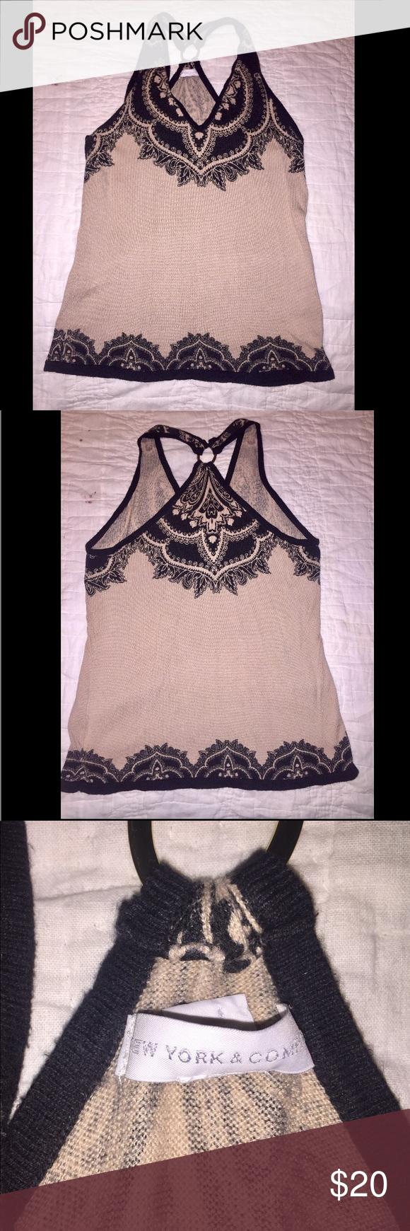 M boutique lace dress   Final ReductionNWT Bohemian Tank Top Size M Boutique  My Posh