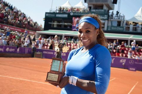 "2013 Swedish Open Champion: World #1 Serena Williams: ""...[post-The Championships loss]  I really wanted to do better here in Bastad this week."" --- <3 Serena is unbeaten in 2013 on clay..... #TeamSERENA won her 53rd Career Title - 9th most of All-time - tying her with Monica Seles, 51st match of 2013, 10th clay court Title, 7th Title of 2013, & 1st ever International-level tier tournament. #Stellar"