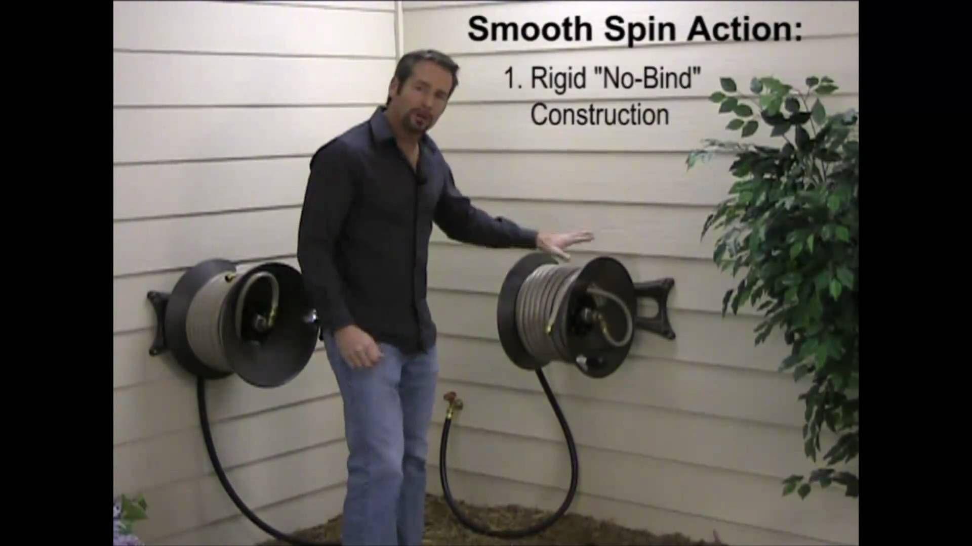 Choosing The Right Wall Mount Garden Hose Reel For Your Needs. Eley 1041  Versatile Model