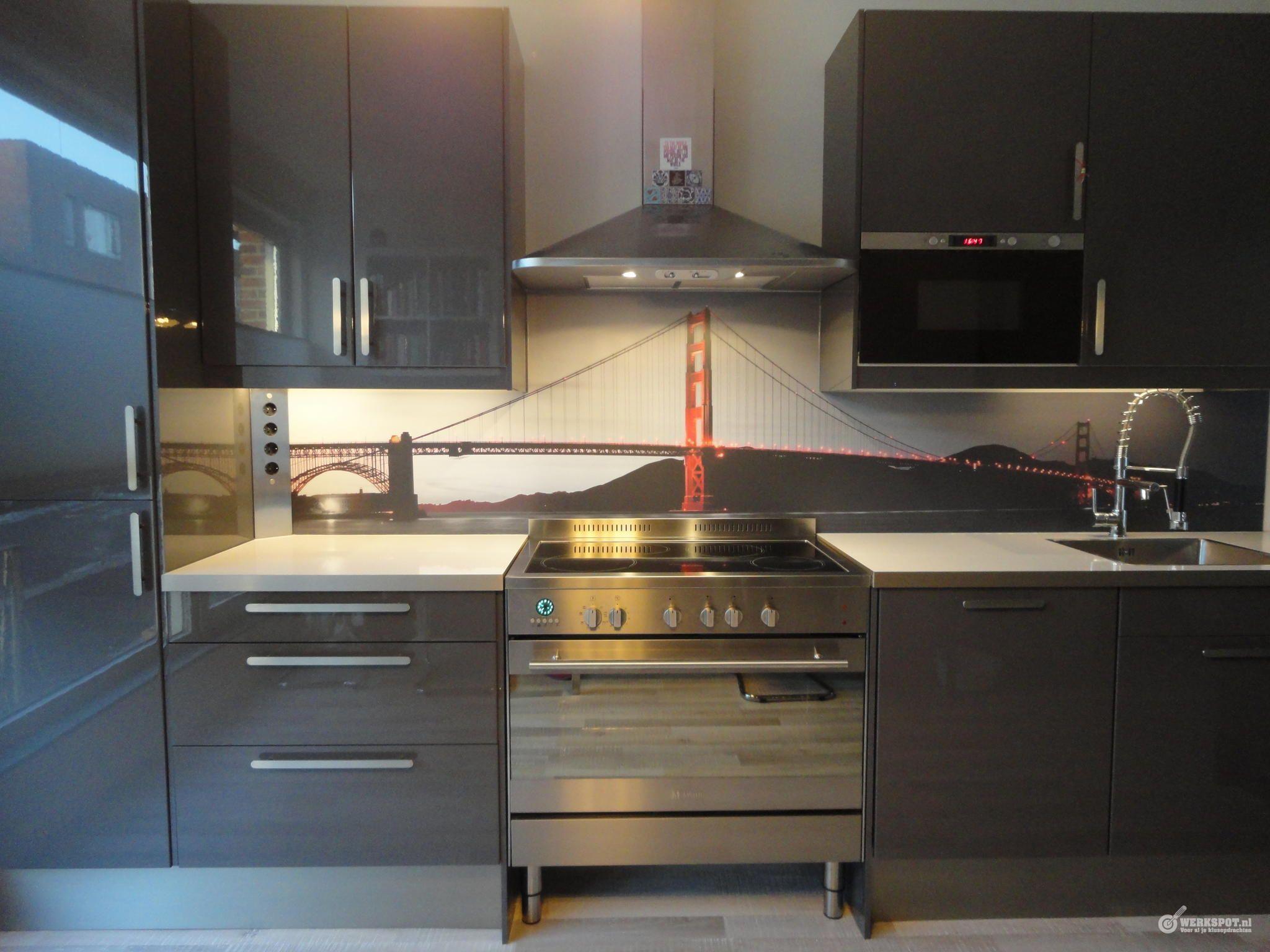 Ikea Keuken Montage Incl Schiereiland Kitchen Splashback