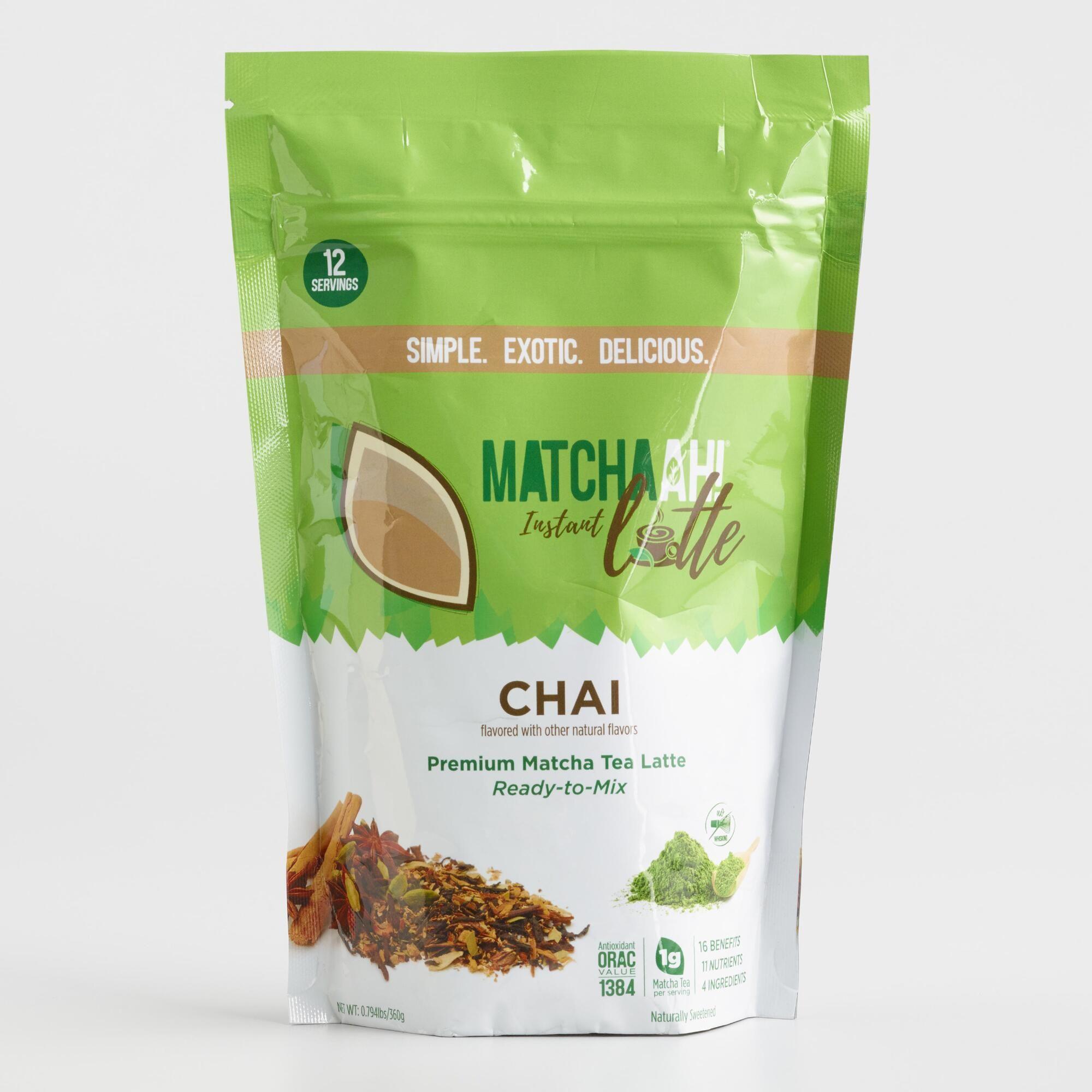 Matchaah Chai Matcha Tea Latte Mix By World Market