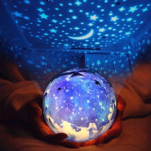 Star Night Light For Children Universe Projection Lamp For Kids Bedroom Romantic Rotating Star Sea Led La Night Light Kids Star Night Light Baby Night Light