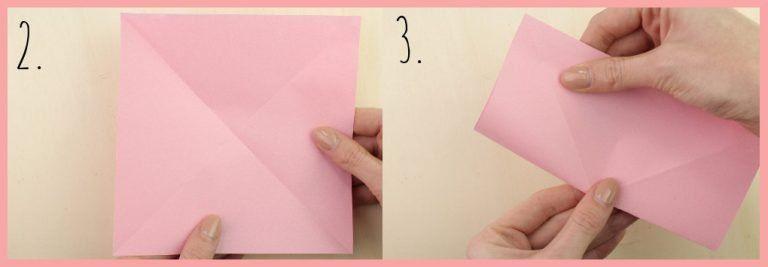 Origami Sternschachtel Falten Einfach Schön Schachtel