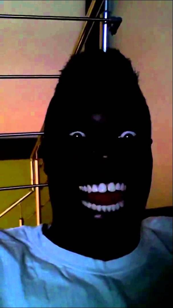 EXTREMELY Funny Black Guy Laughing in the Dark ! | Black ...