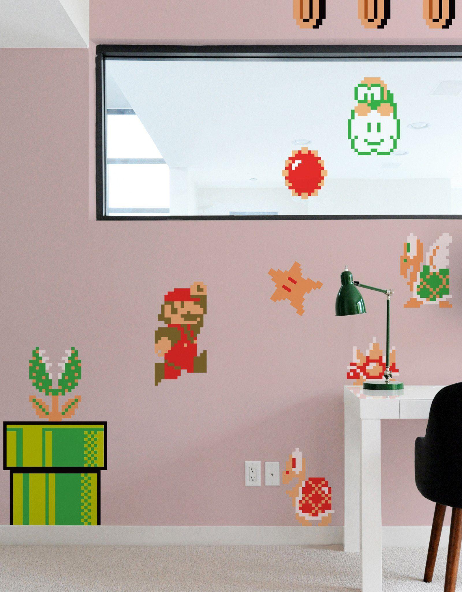 Super Mario Bros ReStik Super mario bros Room ideas and Room