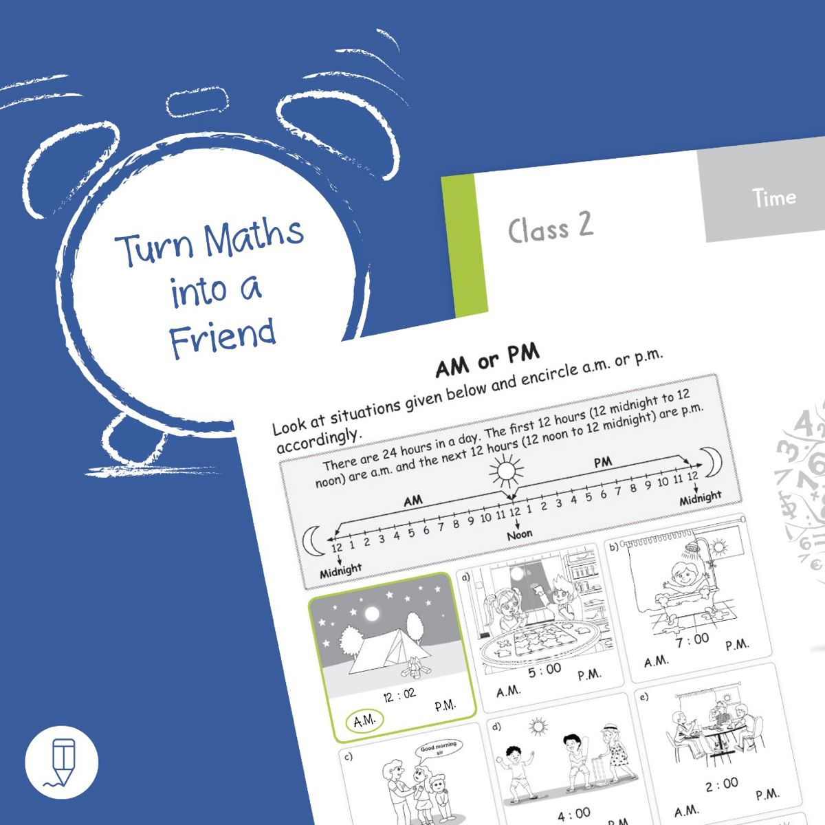 Maths Worksheets Grade 2 Workbook Concept Time