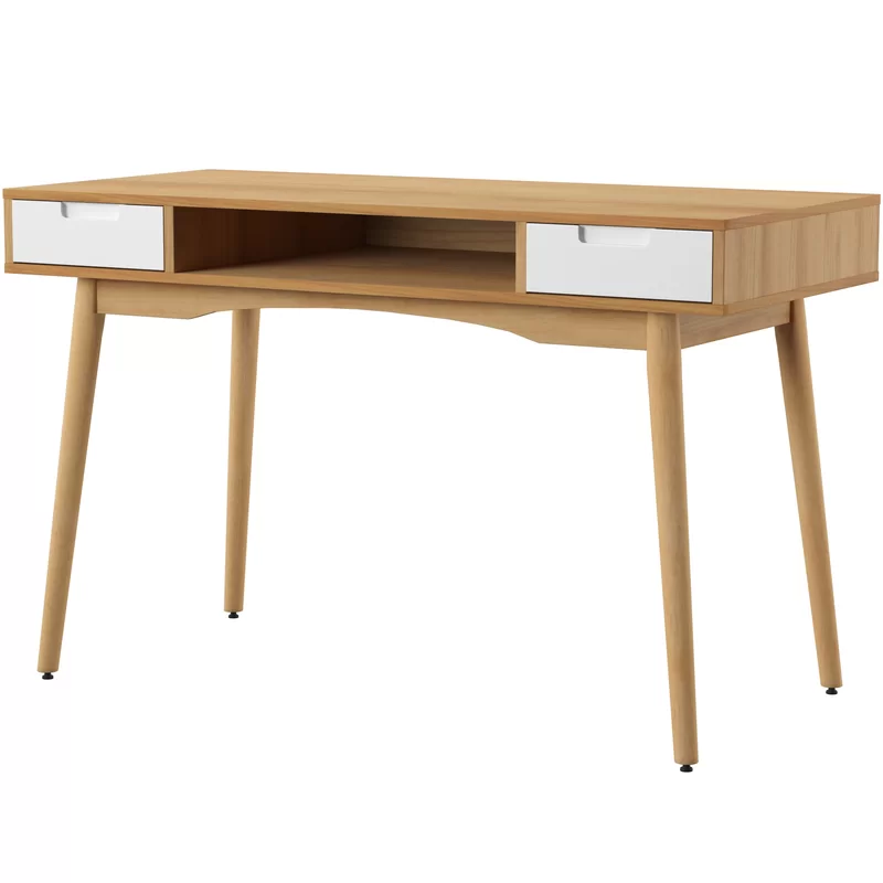 Boehmer Writing Desk Reviews Joss Main Solid Wood Writing